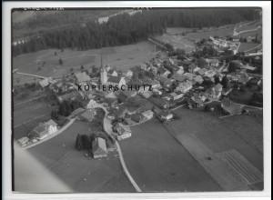 ZZ-3043/ Fischach Foto seltenes Luftbild 1939 18 x 13 cm