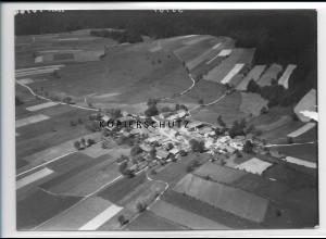 ZZ-3044/ Ahornöd b. Freyung Foto seltenes Luftbild 1938 18 x 13 cm