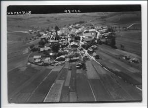 ZZ-3047/ Kreuzberg b. Freyung Foto seltenes Luftbild 1938 18 x 13 cm