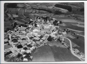 ZZ-3048/ Kreuzberg b. Freyung Foto seltenes Luftbild 1938 18 x 13 cm