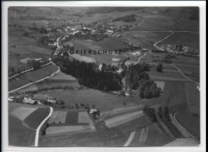 ZZ-3049/ Freyung Foto seltenes Luftbild 1938 18 x 13 cm