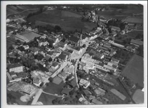 ZZ-3050/ Freyung Foto seltenes Luftbild 1938 18 x 13 cm