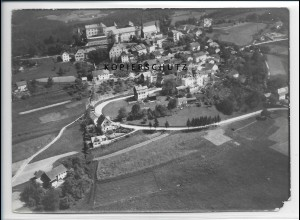 ZZ-3055/ Fürstenstein Foto seltenes Luftbild 1938 18 x 13 cm
