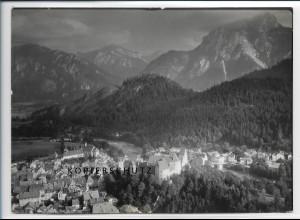 ZZ-3057/ Füssen Foto seltenes Luftbild 1939 18 x 13 cm