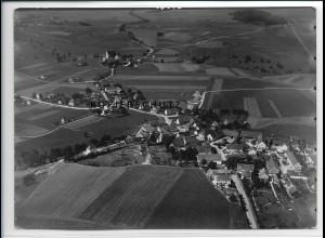 ZZ-3059/ Gessertshausen b. Augsburg Foto seltenes Luftbild 1937 18 x 13 cm