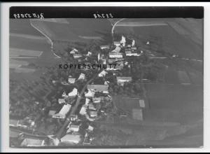 ZZ-3061/ Straußdorf bei Grafing Foto seltenes Luftbild 1938 18 x 13 cm