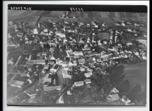 ZZ-3063/ Markt-Grafing Foto seltenes Luftbild 1938 18 x 13 cm