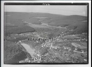 ZZ-4014/ Rambach bei Wiesbaden Foto seltenes Luftbild 1935 18 x 13 cm