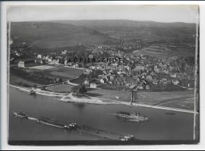 ZZ-5194/ Geisenheim am Rhein Foto seltenes Luftbild 18 x 13 cm ca.1938