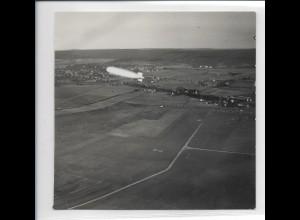 ZZ-3087/ Graf Zeppelin ü. Sindelfingen Stuttgart Foto Luftbild 1938 13 x 13 cm