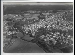 ZZ-3180/ Roth bei Nürnberg Foto seltenes Luftbild 1936 18 x 13 cm