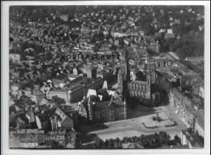 ZZ-4182/ Wiesbaden Foto seltenes Luftbild 1937 18 x 13 cm