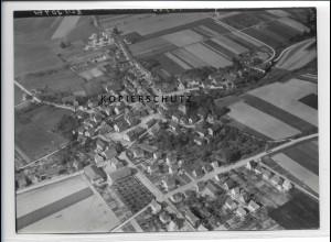 ZZ-3103/ Kleinenglis Foto seltenes Luftbild 1939 18 x 13 cm