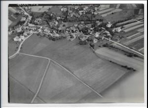 ZZ-3104/ Steinhaus b. Petersberg Foto seltenes Luftbild 1939 18 x 13 cm