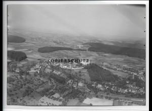 ZZ-3527/ Lichtenberg Fischbachtal Foto seltenes Luftbild ca.1938 18 x 13 cm
