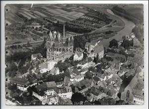 ZZ-3529/ Limburg a.d. Lahn Foto Luftbild 1937 18 x 13 cm