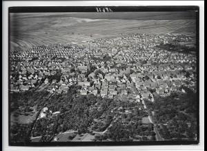 ZZ-3211/ Lampertheim Foto seltenes Luftbild ca.1938 18 x 13 cm