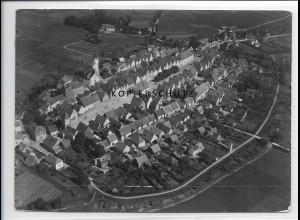ZZ-3264/ Freystadt seltenes Foto Luftbild 1937 18 x 13 cm