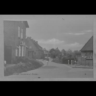Neg6181/ Insel Nordstrand Süden altes Negativ 50er Jahre