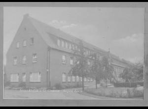 Neg5547/ Neuenkirchen i. O. Clemens-August-Klinik altes Negativ 50/60er Jahre