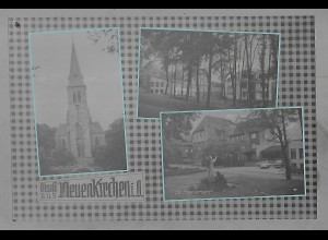 Neg5545/ Neuenkirchen i. O. altes Negativ 50er Jahre