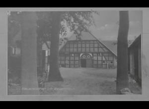 Neg5542/ Neuenkirchen i. O. Bauernhaus altes Negativ 50er Jahre