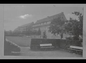 Neg5541/ Neuenkirchen i. O. Clemens-August-Klinik altes Negativ 50er Jahre