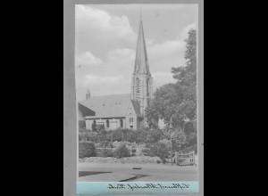Neg5493/ Albersdorf Kirche altes Negativ 40/50er Jahre