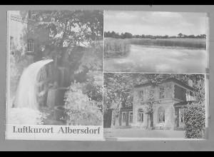 Neg5492/ Albersdorf Kurbadeanstalt altes Negativ 50/60er Jahre