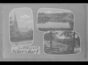 Neg5489/ Albersdorf altes Negativ 50/60er Jahre