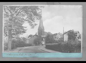 Neg5469/ Schwarzenbek Kirche altes Negativ 40er Jahre