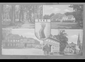 Neg5465/ Syke altes Negativ 50er Jahre