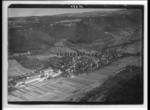 ZZ-3724/ Oberlenningen b. Lenningen Foto seltenes Luftbild 1935 18 x 13 cm