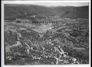 ZZ-3725/ Neidlingen Foto seltenes Luftbild 1938 18 x 13 cm