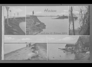 Neg5679/ Husum Flutkatastrophe 1962 altes Negativ
