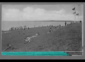 Neg5676/ Husum Strand altes Negativ 40er Jahre