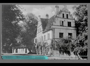 Neg5672/ Husum Haus Cornils altes Negativ 40/50er Jahre