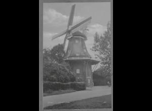 Neg5606/ Jever Windmühle altes Negativ 50/60er Jahre