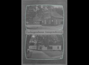 Neg5602/ Varel Torhegenhaus Langendamm altes Negativ 60er Jahre