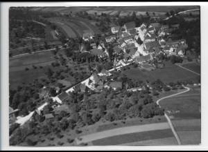 ZZ-3268/ Asperlen b. Rudersberg seltenes Foto Luftbild 1938 18 x 13 cm