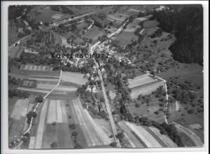 ZZ-3284/ Klaffenbach b. Rudersberg seltenes Foto Luftbild 1938 18 x 13 cm