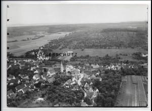 ZZ-3280/ Schlierbach seltenes Foto Luftbild 1935 18 x 13 cm