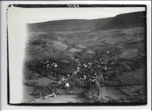 ZZ-3281/ Weiler i.d. Bergen seltenes Foto Luftbild 1936 18 x 13 cm