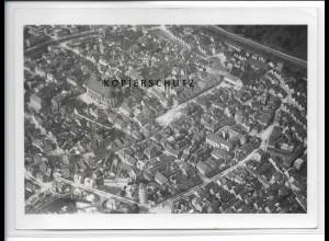 ZZ-3282/ Schwäbisch Gmünd seltenes Foto Luftbild 1935 18 x 13 cm