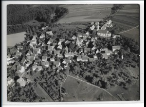 ZZ-5203/ Spraitbach Foto seltenes Luftbild 18 x 13 cm 1939