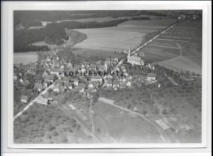 ZZ-3167/ Spraitbach Foto seltenes Luftbild 1936 18 x 13 cm