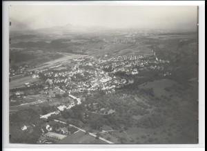ZZ-3272/ Uhingen a. Fils seltenes Foto Luftbild 1936 18 x 13 cm