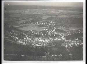ZZ-3273/ Uhingen a. Fils seltenes Foto Luftbild 1936 18 x 13 cm