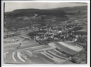 ZZ-3276/ Wäschebeuren Elisabethenberg seltenes Foto Luftbild 1936 18 x 13 cm