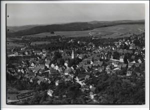 ZZ-3278/ Welzheim seltenes Foto Luftbild 1936 18 x 13 cm